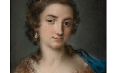 CIRCLE OF ROSALBA CARRIERA (VENETIAN 1673-1757) PORTRAIT OF A VENETIAN BEAUTY