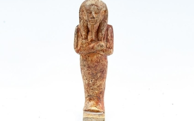 EGYPTIAN CARVED STONE FIGURE