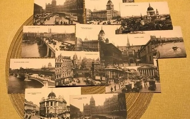 Early 1900's London England Grand Tour Postcards