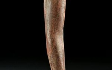 Egyptian Wood Right Arm of Statue - Art Loss Registered