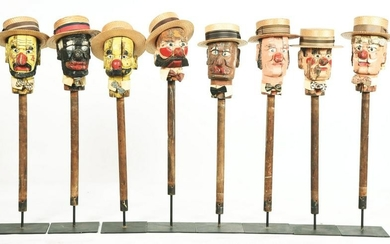 """LOT OF 8: EARLY CARNIVAL """"HAT TOSS: GAME WITH ORIGINAL"""