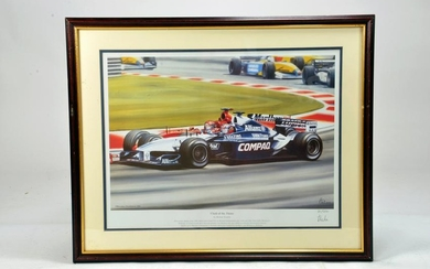 Limited Edition Print of Clash of the Titans Schumacher