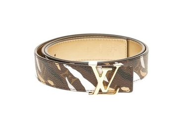 Louis Vuitton - Ultra Exclusive-Sold out- Belt reversible limited edition LOL Belt