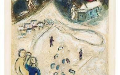 MARC CHAGALL (1887-1985), L'Hiver, from: Daphnis et Chloé