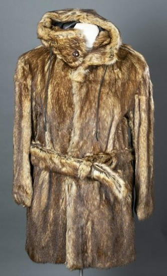 Lot Art Marmot Fur Austin Reed Coat