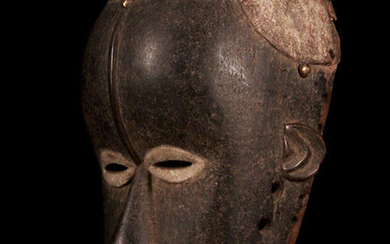 Mask - Wood - beet - Ivory Coast