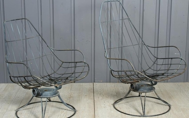 New Jersey Swivel Spring Patio Chairs