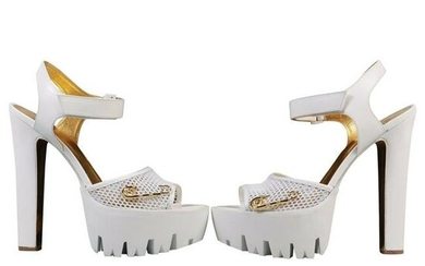 New Versace Versus + Anthony Vaccarello White Platform