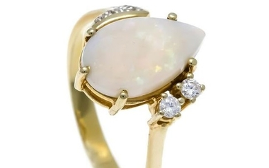 Opal-Brillant-Ring GG 585