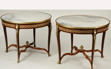 Pair of Louis XV Style Dore Bronze Mounted Guerdions.