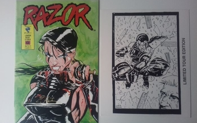 Razor#0 - Signed Limited Tour Edition With Print - First edition