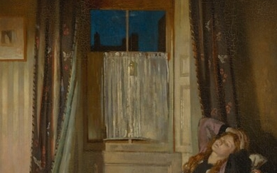 SIR WILLIAM ORPEN, R.W.S., N.E.A.C., R.A., R.H.A. | THE WINDOW: NIGHT