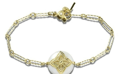 Stambolian Candy Pearl Link Bracelet