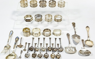 Sterling Silver Flatware and Hollowware Assortment