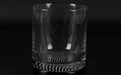 Studio Glass Optic Vase (H14cm)