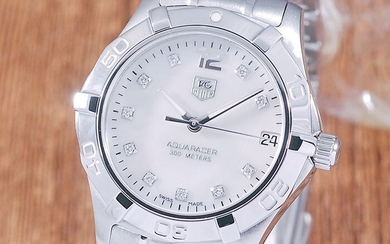 TAG Heuer - Aquaracer Mother of Pearl Diamond - Ref. WAF1312 - Women - 1990-1999