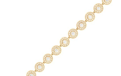 Tiffany & Co. Rose Gold and Diamond Bracelet