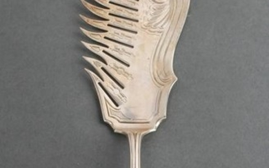 "Tiffany & Co. Silver ""Grecian"" Macaroni Server"