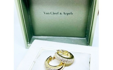 Van Cleef & Arpels Gold - Earrings Diamond