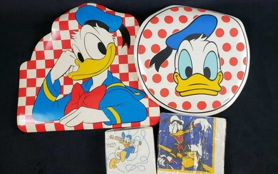 Vintage Donald Duck Disney Placemats and Napkins