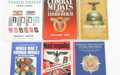 WWII GERMAN MILITARIA REFERENCE BOOK LOT