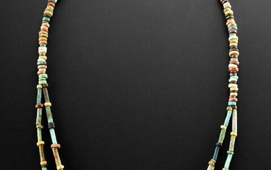 Wearable Egyptian Faience Bead Necklace