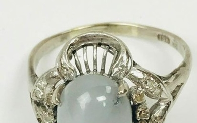 18K Diamond and Star Sapphire Ring Appraised Value
