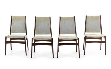 Johannes Andersen Set of Four Dining Chairs Uldum