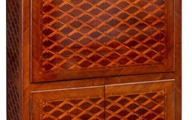 A Napoleon III secretaire à abattant with mahogany,...