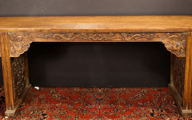 A large Chinese Huali Altar Table