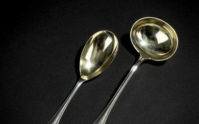 Albin Mueller, Set of two pieces of serving cutlery
