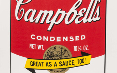 Andy Warhol (1928-1987)(after) Soup Can II (Sunday B. Morning) (set of ten)