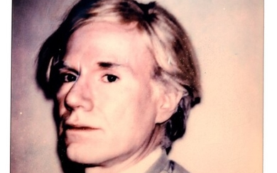 Andy Warhol (Pittsburgh 1928 - New York 1987), Self-Portrait , years 1980