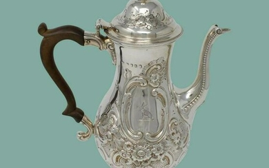 Ann and Peter Bateman Sterling Coffee pot