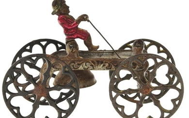 CAST IRON BELL TOY.