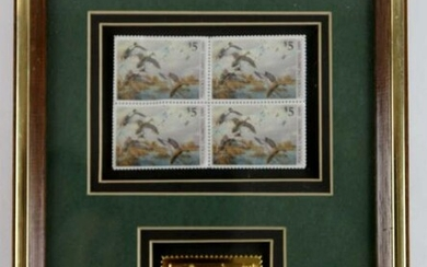 CULBERTSON'S 1989 DUCKS UNLIMITED STAMP COLLECTION