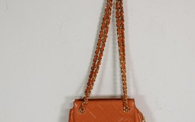 Chanel Mini Chain Tote in Qulited Leather