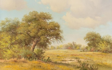 """Charlotte Claire Payne (1924-2011), """"The Open Field"""""""