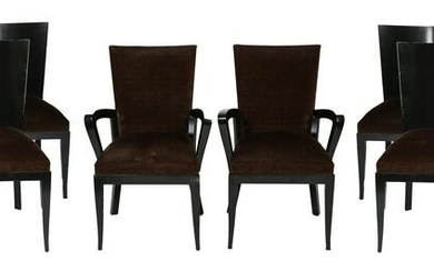 Dakota Jackson Modern Dining Chairs, Set of 10