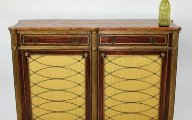 French Empire style painted sideboard