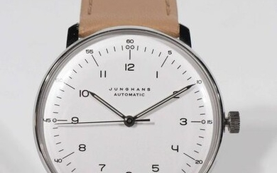 Junghans 'Max Bill' Bauhaus Style Automatic Watch