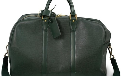 Louis Vuitton Green Epi Keepall Travel Bag