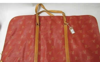 Louis Vuitton Red Edition America's Cup suit carrier, circa ...