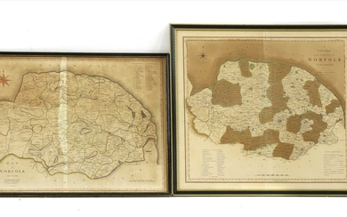 MAPS: NORFOLK: Blome, R: A Mapp of the county of Norfolk