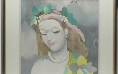 Marie Laurencin (after) Paint-Enhanced Print