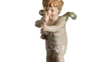 Meissen, Cupid Thumbing His Nose, Model L125