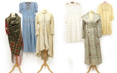 Six Items of Early 20th Century Ladies' Costume, comprising a...