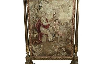Tapestry Fireplace Screen 18th Century