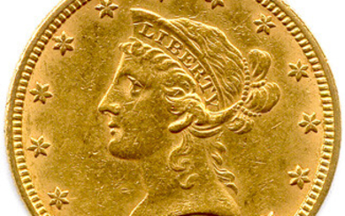 UNITED STATES OF AMERICA $10 gold 1881 Philadelphia. (16.75 g) T.B.