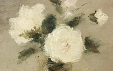 Untitled (Bouquet of White Flowers)